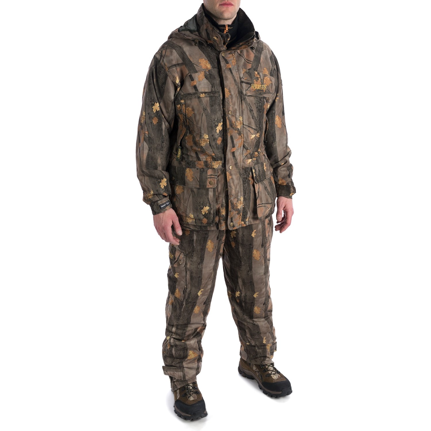 hycreek pro ii series big game camo hunting package with