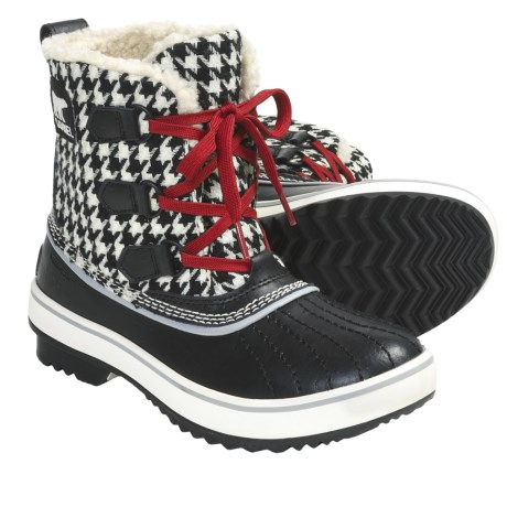 Sorel Tivoli Houndstooth Pac Boots - Waterproof, Insulated (For Women)