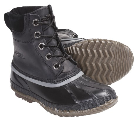 Sorel Cheyanne Lace Winter Boots - Insulated, Leather (For Youth)