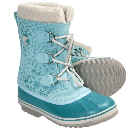 Sorel 1964 Pac Graphic Winter Boots - Waterproof (For Youth Girls)