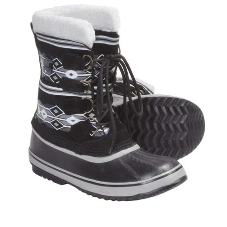 Sorel 1964 Graphic Diamond Print Winter Boots (For Women)