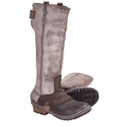 Sorel Slimpack Tall Riding Boots - Waterproof, Insulated  (For Women)