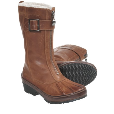 Sorel Earhart Mid Winter Boots - Waterproof, Leather (For Women)