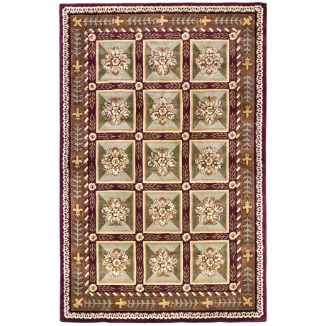 "Momeni Maison Collection Hand-Tufted Wool Area Rug - 5'3""x8'"