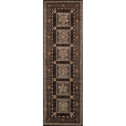 "Momeni Maison Collection Hand-Tufted Wool Runner - 2'6"" x 8'"