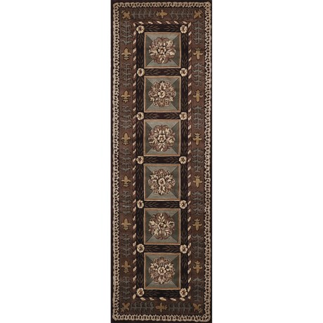 """Momeni Maison Collection Hand-Tufted Wool Runner - 2'6"""" x 8'"""