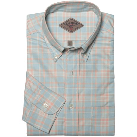 Bills Khakis Sun-Bleached Plaid Shirt - Long Sleeve (For Men)