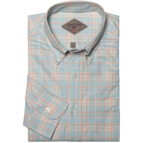 Bills Khakis Sun-Bleached Plaid Shirt - Long Sleeve (For Men)