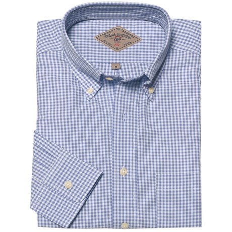 Bills Khakis Gingham Seersucker Shirt - Long Sleeve (For Men)