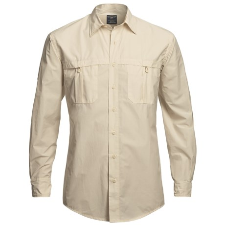 Bills Khakis Flyweight Fishing Shirt - Cotton, Long Sleeve (For Men)