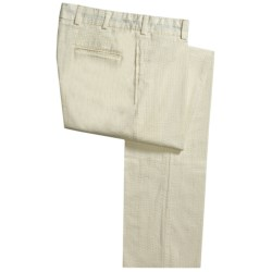 Bills Khakis Seersucker Pants - Cotton (For Men)
