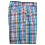 Bills Khaki Bermuda Plaid Parker Shorts (For Men)