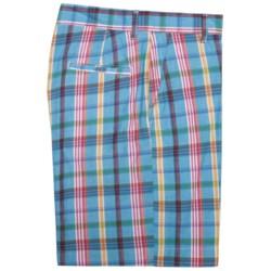Bills Khaki Bermuda Plaid Parker Shorts (For Men)