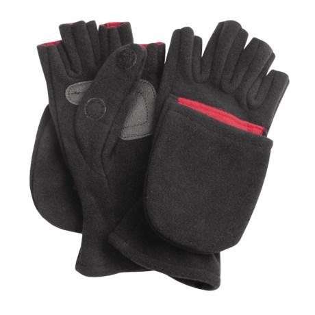 Glacier Gloves Windproof Glomitt Fleece Gloves (for Men and Women)