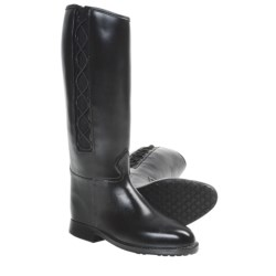 Dav Equestrian Corded Rain Boots (For Women)