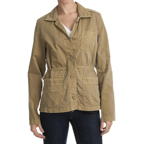 Lightweight Ripstop Cotton Jacket (For Women)