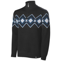 Neve Remy Zip Neck Sweater - Merino Wool (For Men)