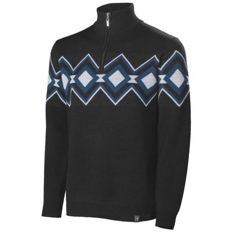 Neve Remy Zip Neck Sweater - Merino Wool (For Men)