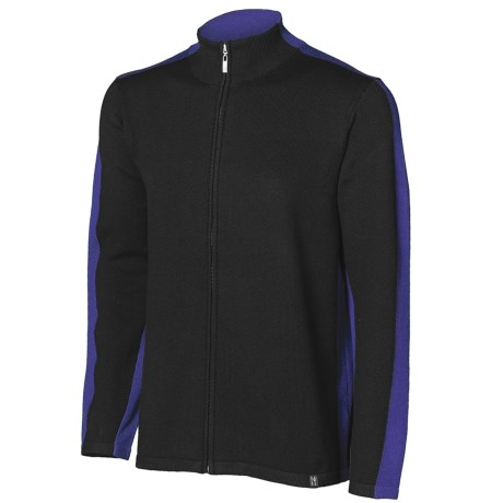 Neve River Cardigan Sweater - Full Zip (For Men)