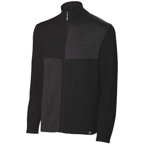 Neve Cole Cardigan Sweater - Full Zip (For Men)