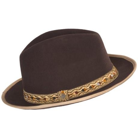 Robert Graham Deep Soul Fedora Hat - Wool-Silk (For Men)