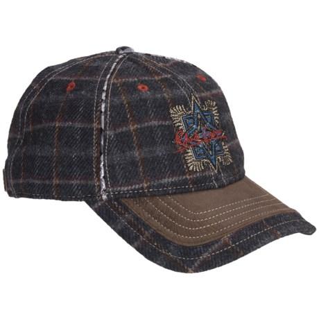 Robert Graham Loos Plaid Baseball Cap - Wool-Silk (For Men)