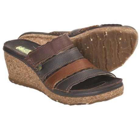 El Naturalista N402 Wedge Sandals (For Women)
