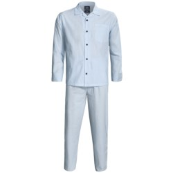 Monte Carlo Polo & Jockey Club Plaid Poplin Pajamas - Long Sleeve (For Men)