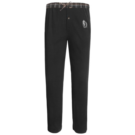 Monte Carlo Polo & Jockey Club Thermal Lounge Pants (For Big Men)