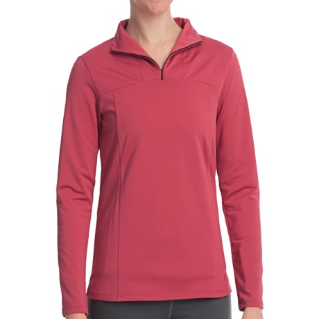 Stonewear Designs Toaster Shirt - Zip Neck, Long Sleeve (For Women)