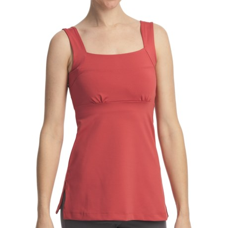 Stonewear Designs Felicity Dryflex Tank Top - Built-In Shelf Bra, Empire Waist (For Women)