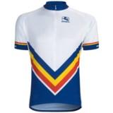 Giordana Retro Stripe Cycling Jersey - Short Sleeve (For Men)