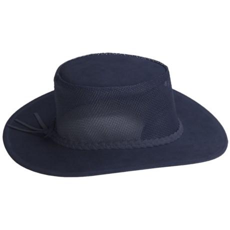 Kakadu Australia Kakadu Bendigo Mossback Suede Hat - UPF 50+ (For Men and Women)