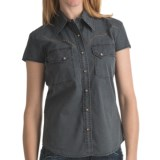 Kakadu Carson 5 oz. Gunn-Worn Canvas Shirt - Short Sleeve (For Women)
