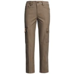 Kakadu 8 oz. Gunn-Worn Canvas Cargo Pants (For Women)