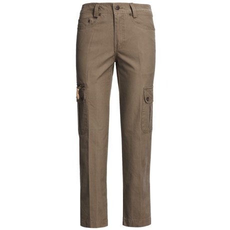Kakadu 8 oz. Gunn-Worn Canvas Cargo Pants (For Women)