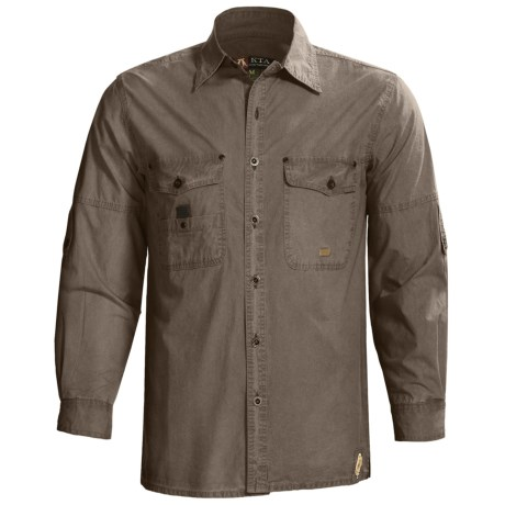 Kakadu Concord Shirt - Long Roll-Up Sleeve (For Men)