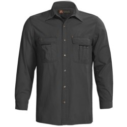 Kakadu Cable Snap Front Shirt - 8 oz. Gunn-Worn Canvas, Long Sleeve (For Men)