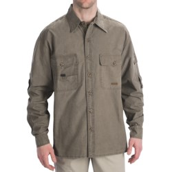 Kakadu Toorak Shirt - 10 oz. Gunn-Worn Canvas, Roll-Up Long Sleeve (For Men)