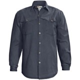 Kakadu Station Double Stitch Shirt - Gunn-Worn Canvas, Long Sleeve (For Men)