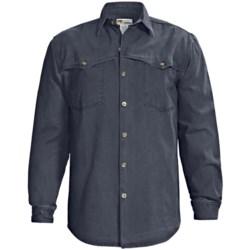 Kakadu Station Double Stitch Shirt - Gunn-Worn Canvas, Long Sleeve (For Men)