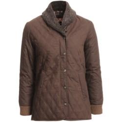 Kakadu Coleraine Quilted Oilskin Jacket (For Women)