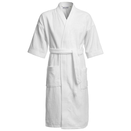 Belted Terry Robe - Short Sleeve (For Men)