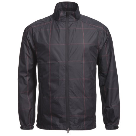 Zero Restriction Plaid Wind Shirt - Long Sleeve (For Men)