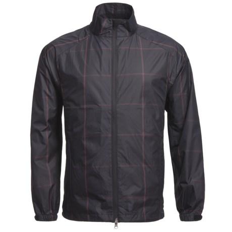 Zero Restriction Plaid Wind Shirt - Long Sleeve (For Men)