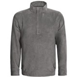 Zero Restriction Classic Microsuede Windshirt - Zip Neck (For Men)