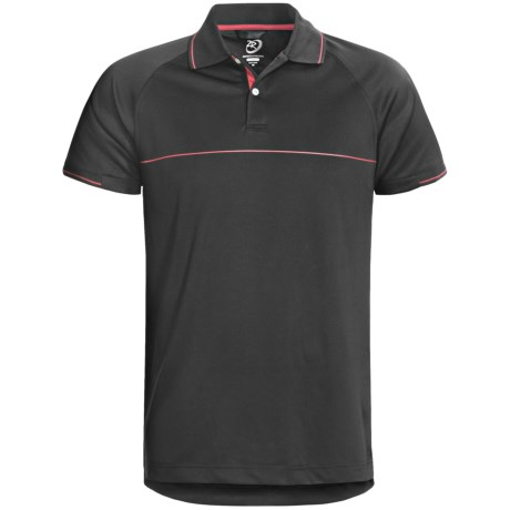 Zero Restriction Chest Stripe Polo Shirt - Short Sleeve (For Men)