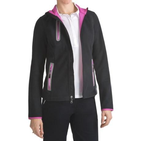 Zero Restriction Windproof Fleece Jacket (For Women)