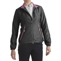 Zero Restriction Power Torque Wind Jacket (For Women)