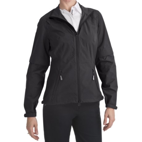 Zero Restriction Pleated Packable Jacket (For Women)